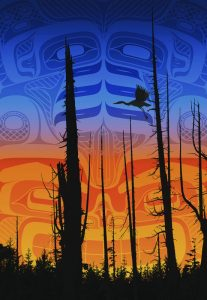 Andy Everson-Nimpkish Sunset