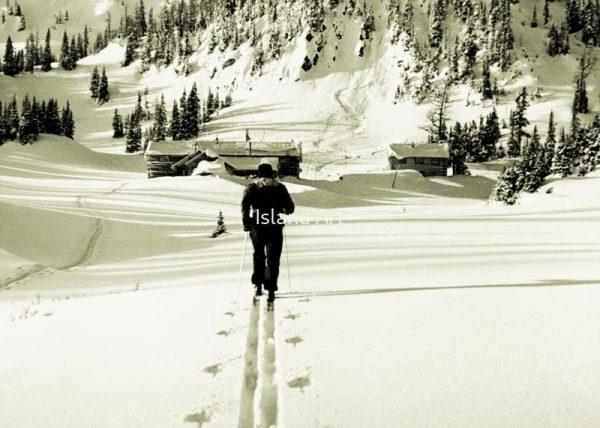 Bruno Engler-Sunshine Ski Area in 1939