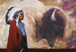Doug Levitt-Spirit Of The Buffalo