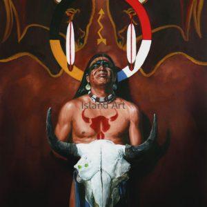 Doug Levitt-Spirit Of The Buffalo II