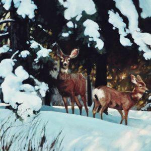 Gaye Adams-Watchers In The Woods