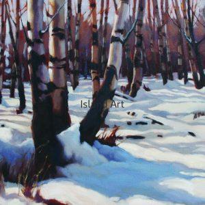 Gaye Adams-Winter Aspens