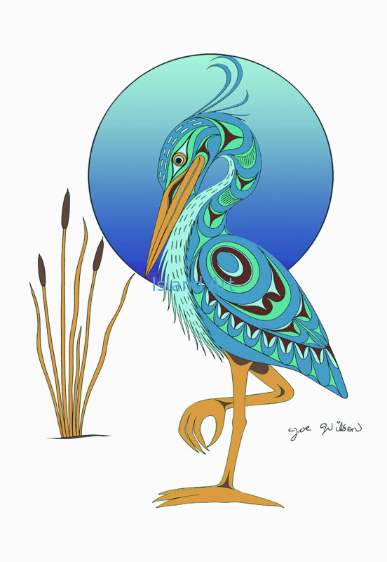 Joe Wilson-Blue Heron