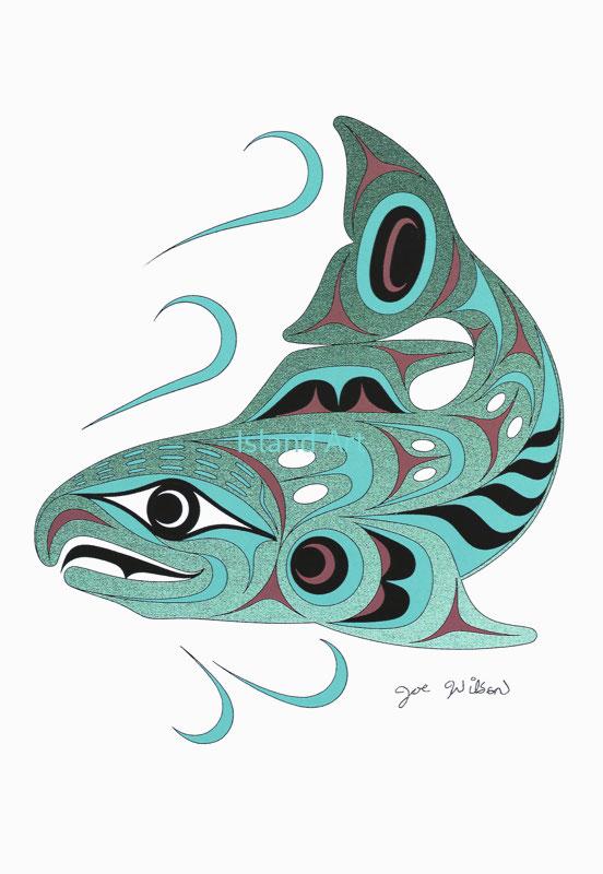 Joe Wilson-Spawning Salmon
