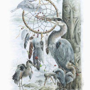 Judi Wild-Spirits Of The Great Blue Heron