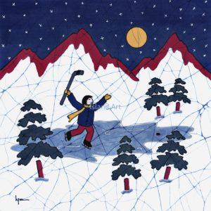 Lynn Blaikie-Hockey Night