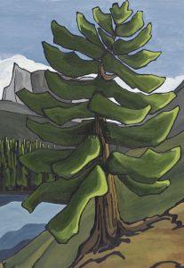 Lynne Huras-Lakeside Trail, Mountain Lake