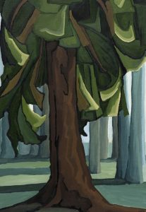 Lynne Huras-Whyte Museum Backyard