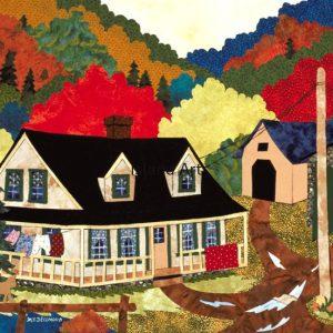 Madeleine Bellmond-Autumn Road