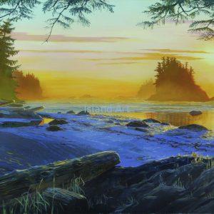 Mark Hobson-Barkley Sound: Broken Islands Sunset