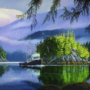 Mark Hobson-Lemmens Inlet Morning