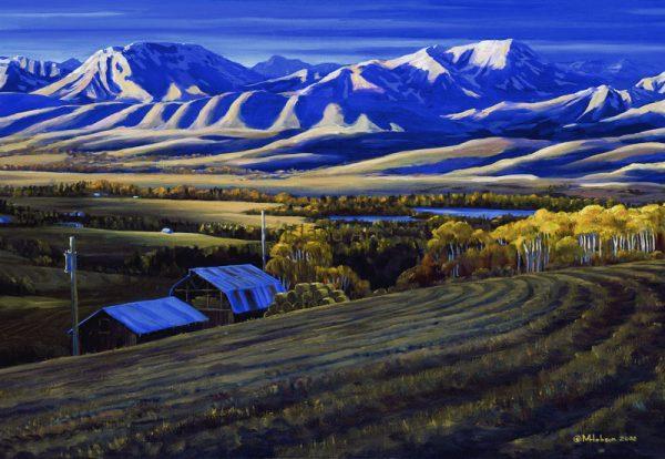 Mark Hobson-Rockies at Dawn