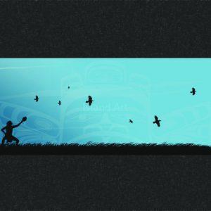 Mark Preston-Eagle Dance Blue Sky