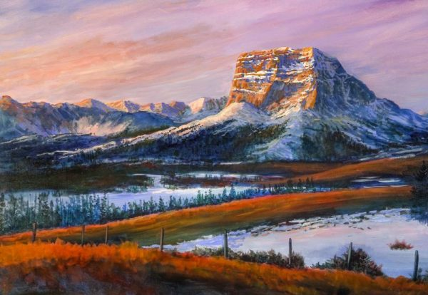 Murray Phillips-Morning At Chief Mountain