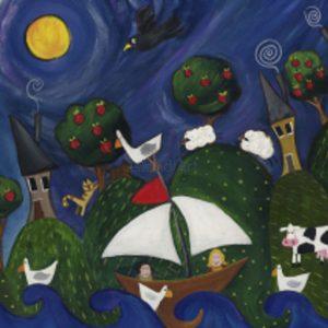 Shelly Atkinson-Night Sail