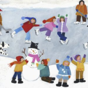 Shelly Atkinson-Playing In The Snow