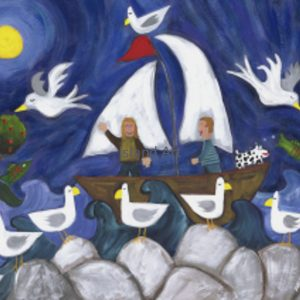 Shelly Atkinson-Sailing In The Moonlight
