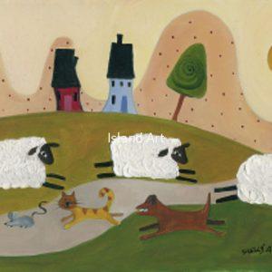 Shelly Atkinson-Sheep Chase