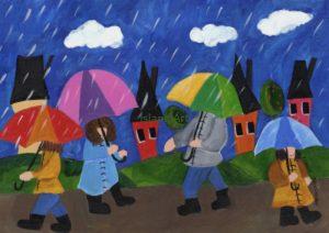 Shelly Atkinson-Walking In The Rain