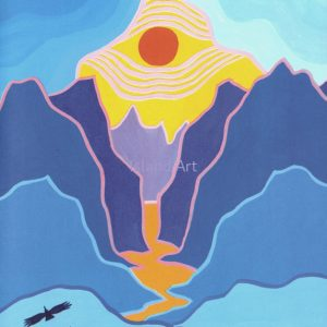 Ted Harrison-The Journey