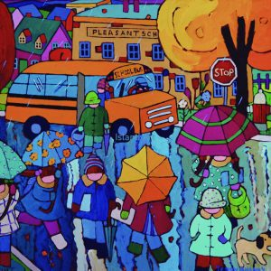 Terry Ananny-Boots And Umbrellas