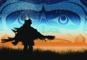 Andy Everson-Eagle Down Dancer