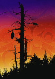 Andy Everson-Sunset Summit