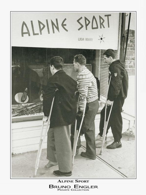 Bruno Engler Alpine Sport Poster