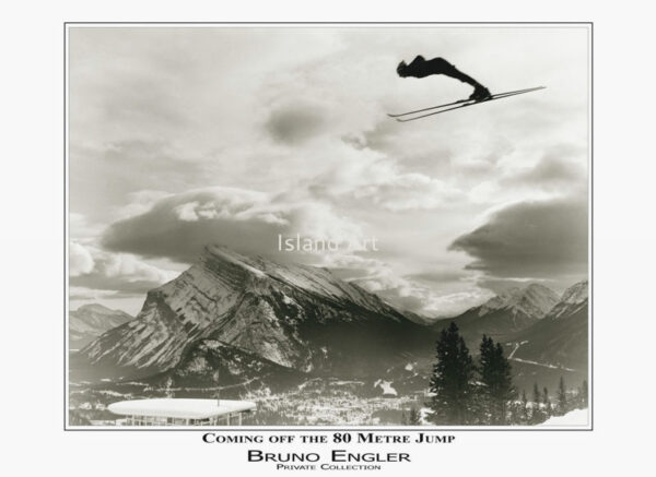 Bruno Engler Coming Of The 80 Metre Jump poster