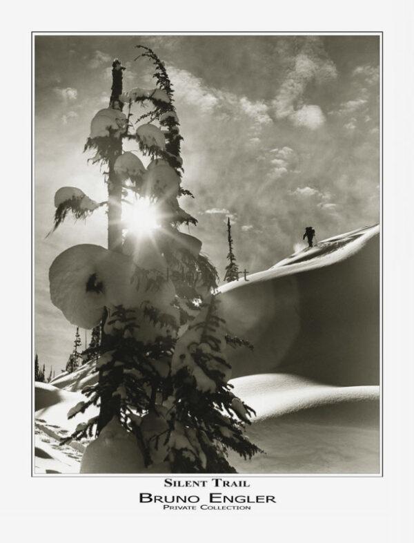 Bruno Engler Silent Trail poster